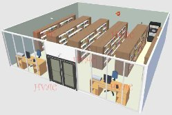 图书馆空调解决方案