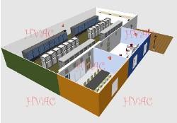 大型伺服器中心空调解决方案