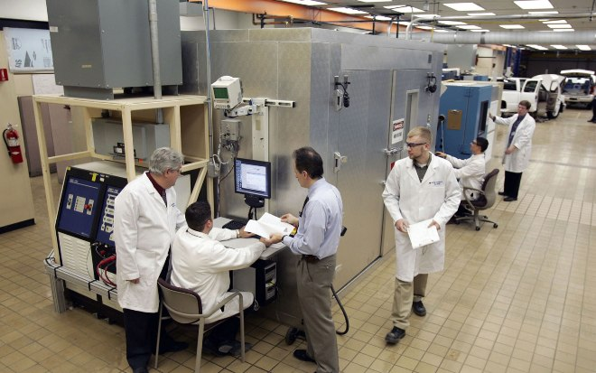 通用汽车的电池实验室(GM battery lab)