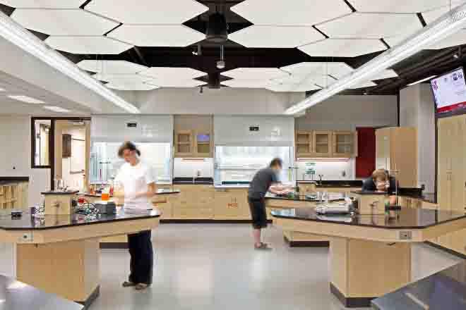 汉密尔顿厅化学实验室(Hamilton hall chemistry lab)