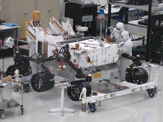 火星科学实验室(Mars science lab)
