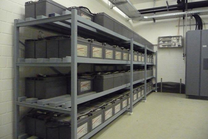 UPS蓄电池室(UPS battery room)