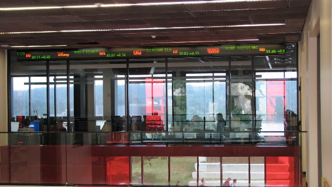 金融贸易中心(Financial trading center)