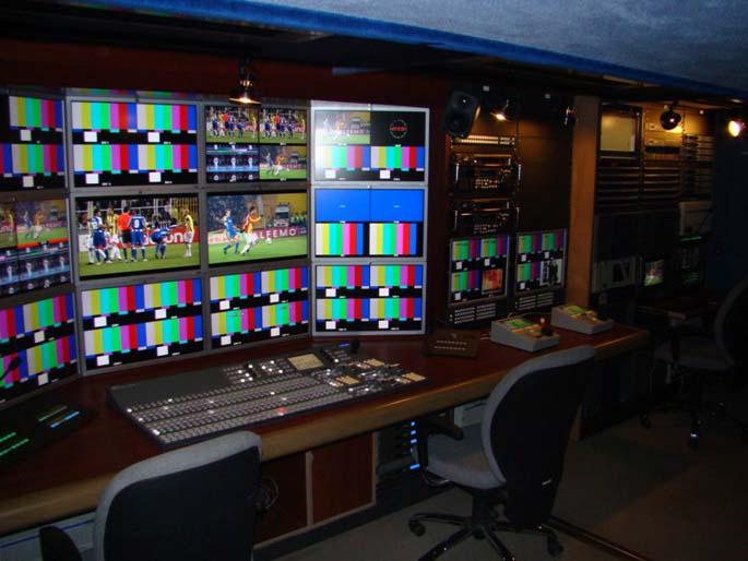 电视台(TV station)
