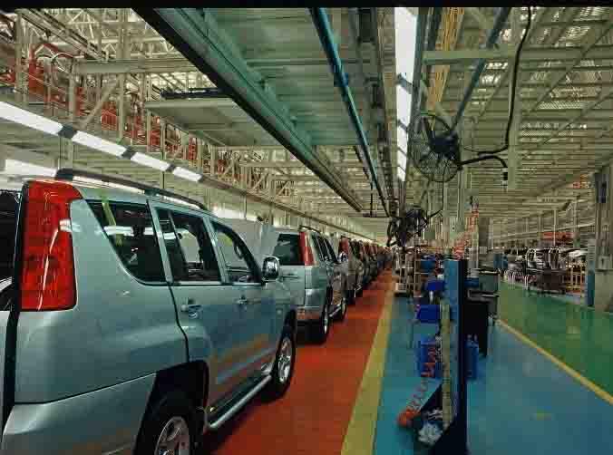 汽车生产车间(Automobile production workshop)
